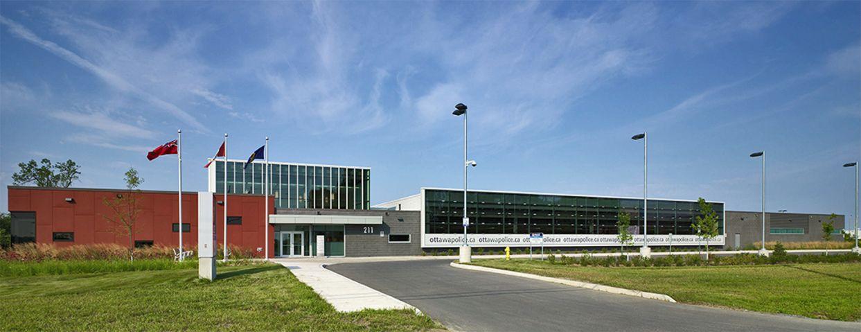 Project: Ottawa Police HQ Location: Kanata, ON Product: Equitone Architect: HOK #brilliantbuildings