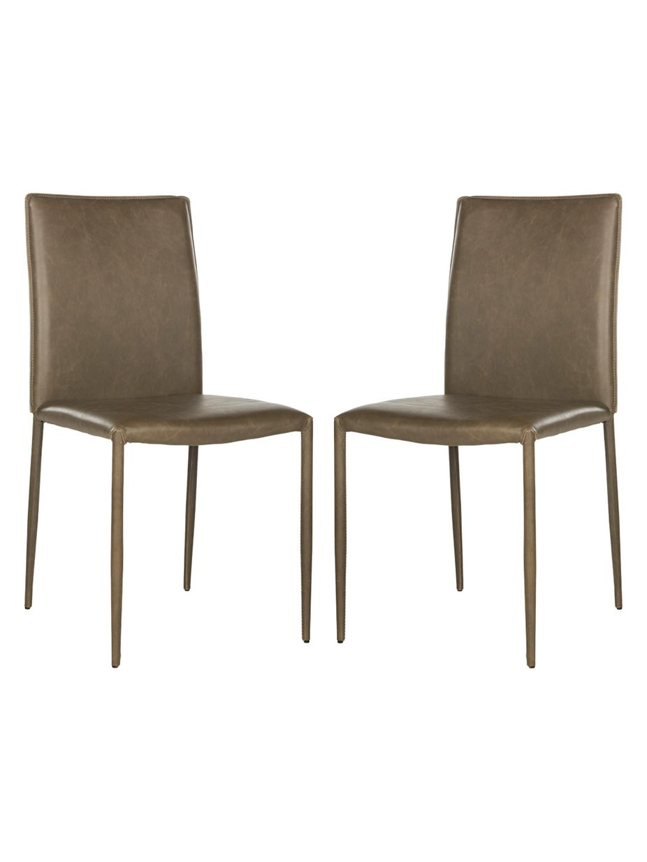 Safavieh Karna Dining Chairs (Set of 2) | Fashion Home Style | Pinterest