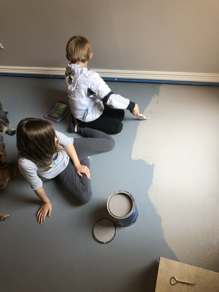How To Paint Concrete Floors Home Decor and Home