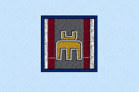 BSG Leonis planet symbol machine embroidery design - Battlestar Galactica on Etsy, $3.00