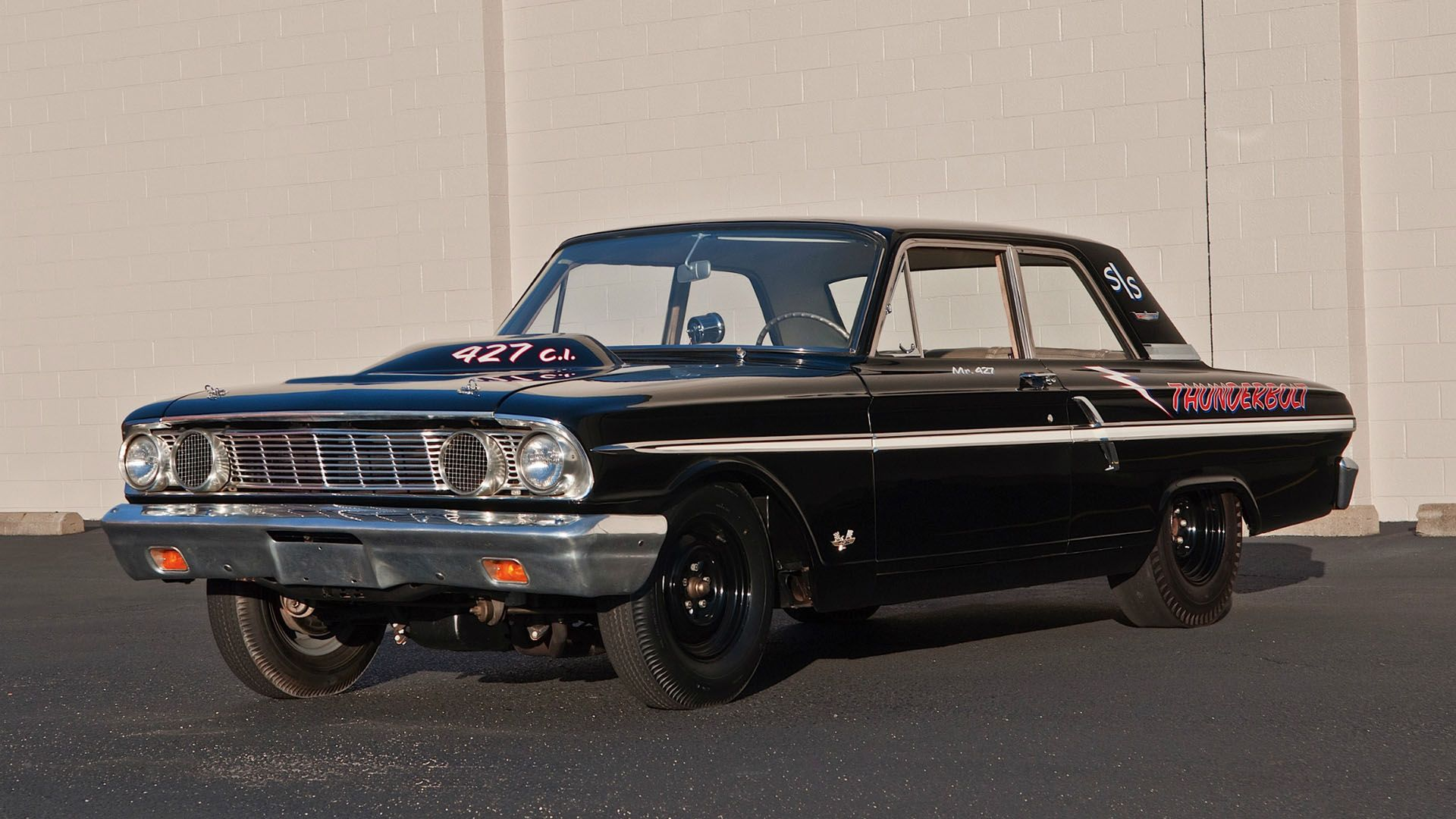 1964 ford thunderbolt 427 factory drag car at its finest
