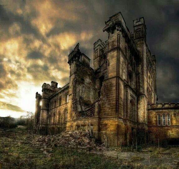 Abandoned Castle In Mesen, Belgium