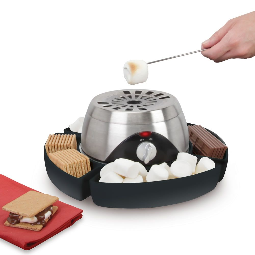 The Indoor Flameless Marshmallow Roaster   How Cool Is That!?