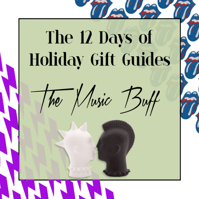 The 12 Days of Holiday Gift Guides: The Music Buff   Holiday gift guide, Holiday gifts, Gift guide