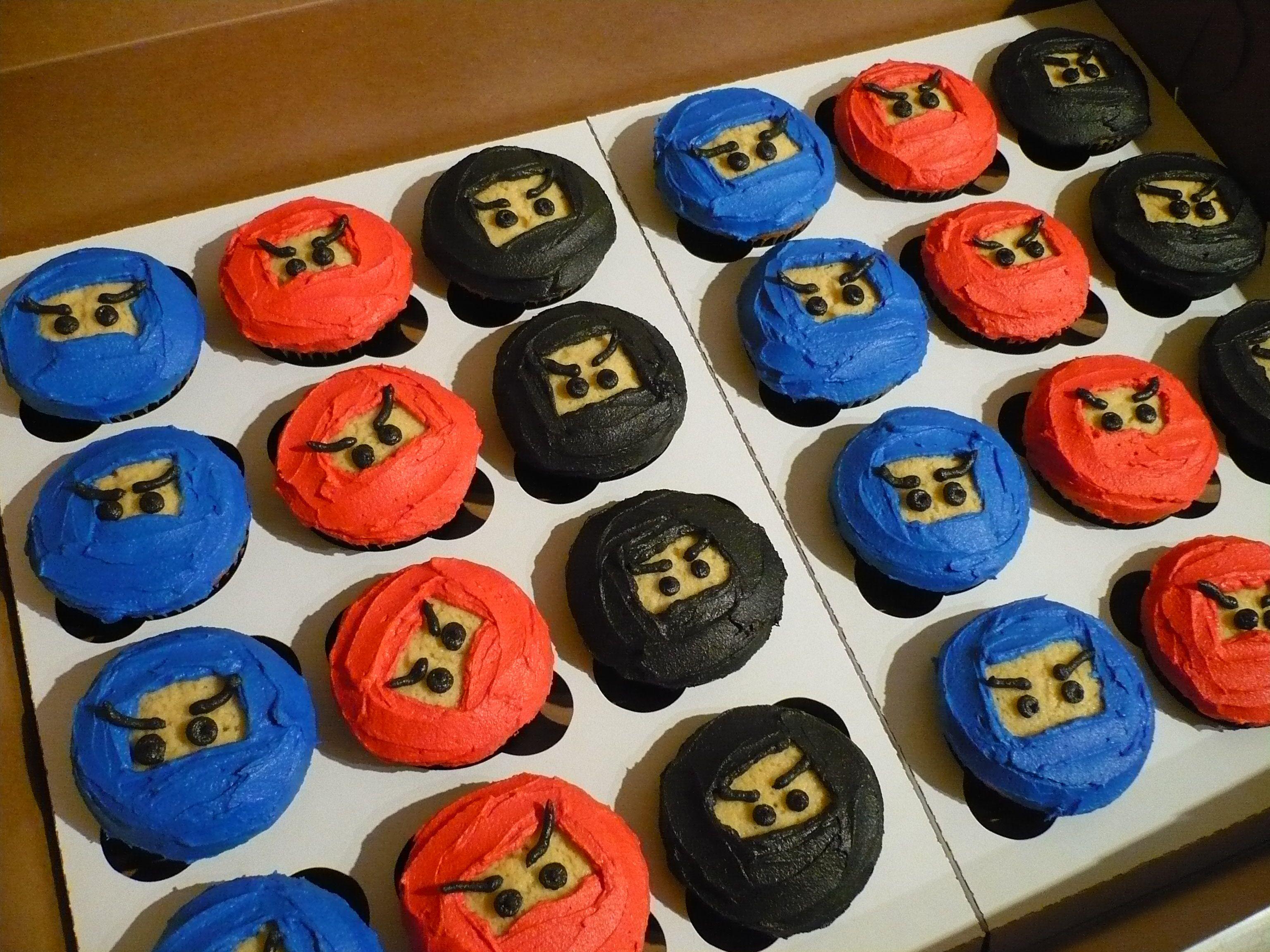 Ninjago Birthday Cakes