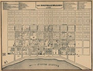 NOLA History 8 Fascinating Old New Orleans Maps