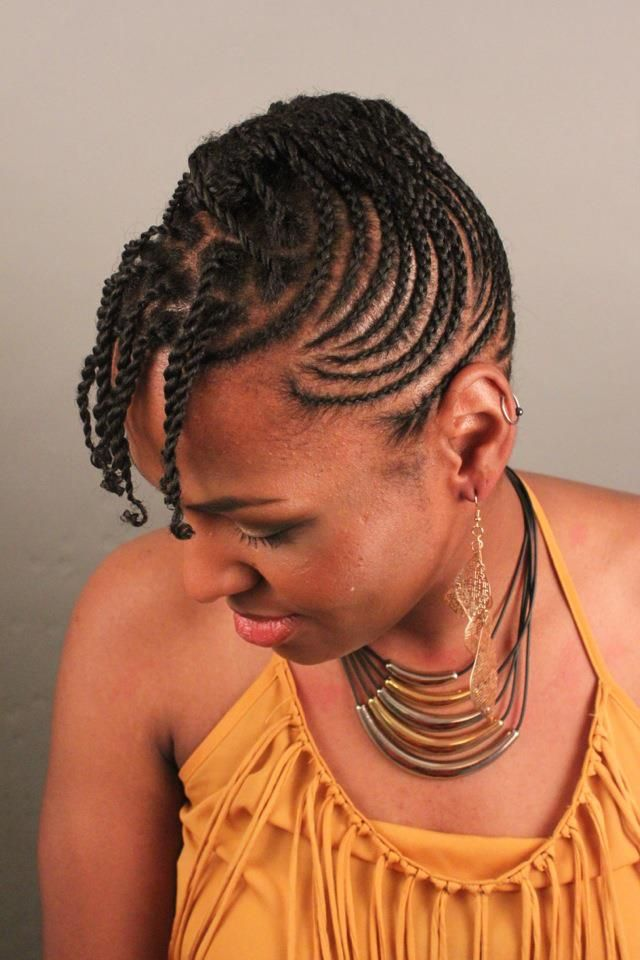 Awe Inspiring Twist Braid Hairstyles For African Woman Stylpinch Beauty Arena Short Hairstyles For Black Women Fulllsitofus