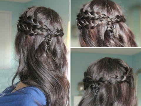 Everyday boho hairstyle. Luxy Hair