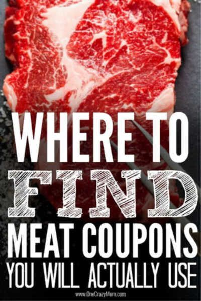 Where to find meat coupons - Best places to find coupons for meat