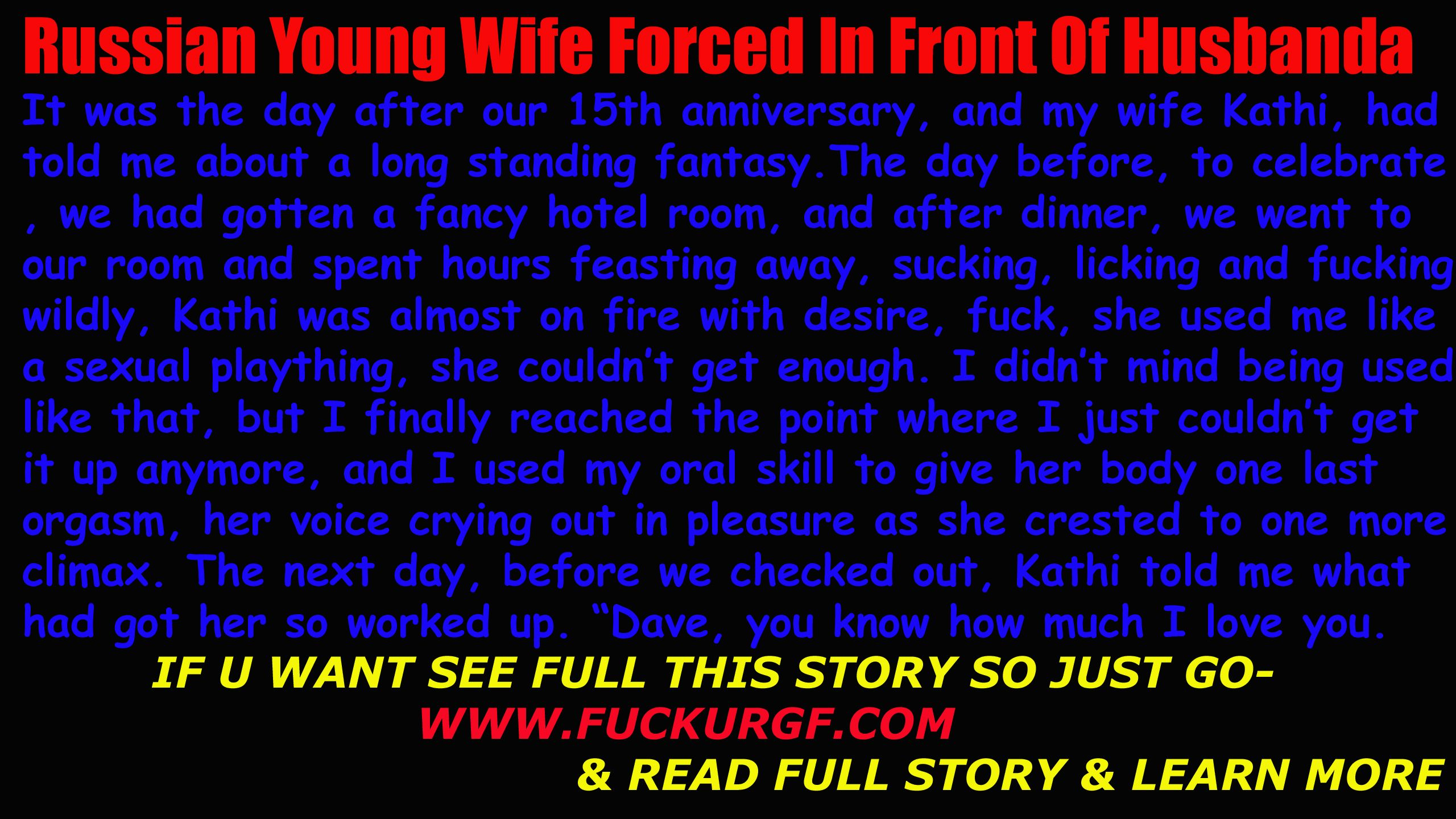 Russian Young Wife Forced In Front Of Husband   Diy