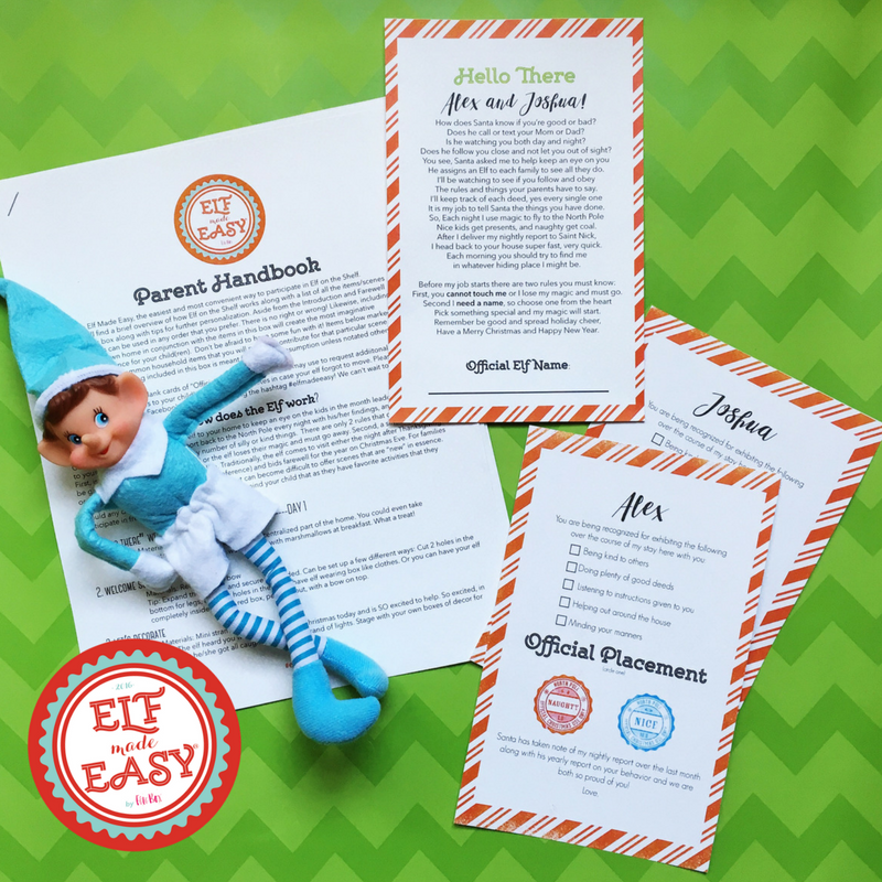 GIVEAWAY // ELF MADE EASY