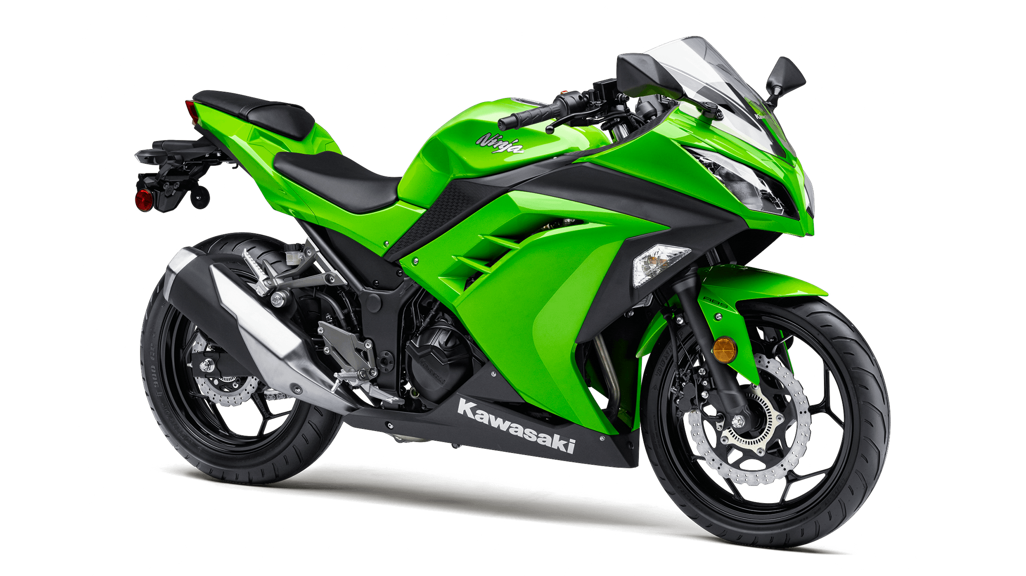 2015 NINJA® 300 ABS Sport Motorcycle by Kawasaki Green or