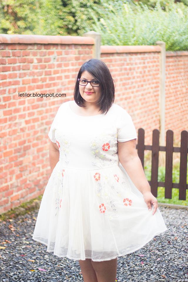 Le blog de Letilor: La robe patineuse à fleurs