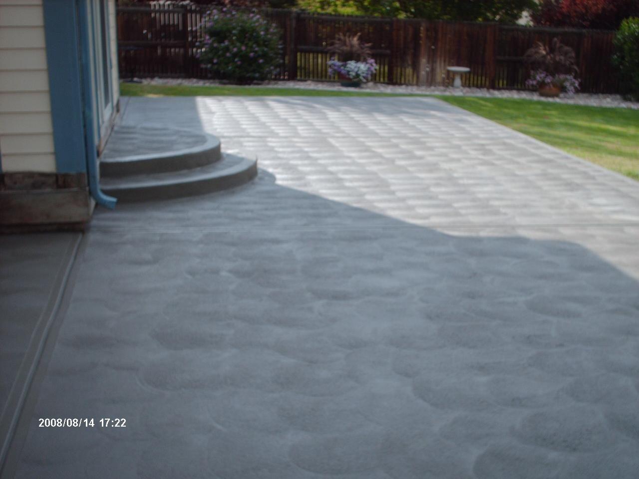 Good Day Concrete Picture Gallery Concrete Patio Concrete
