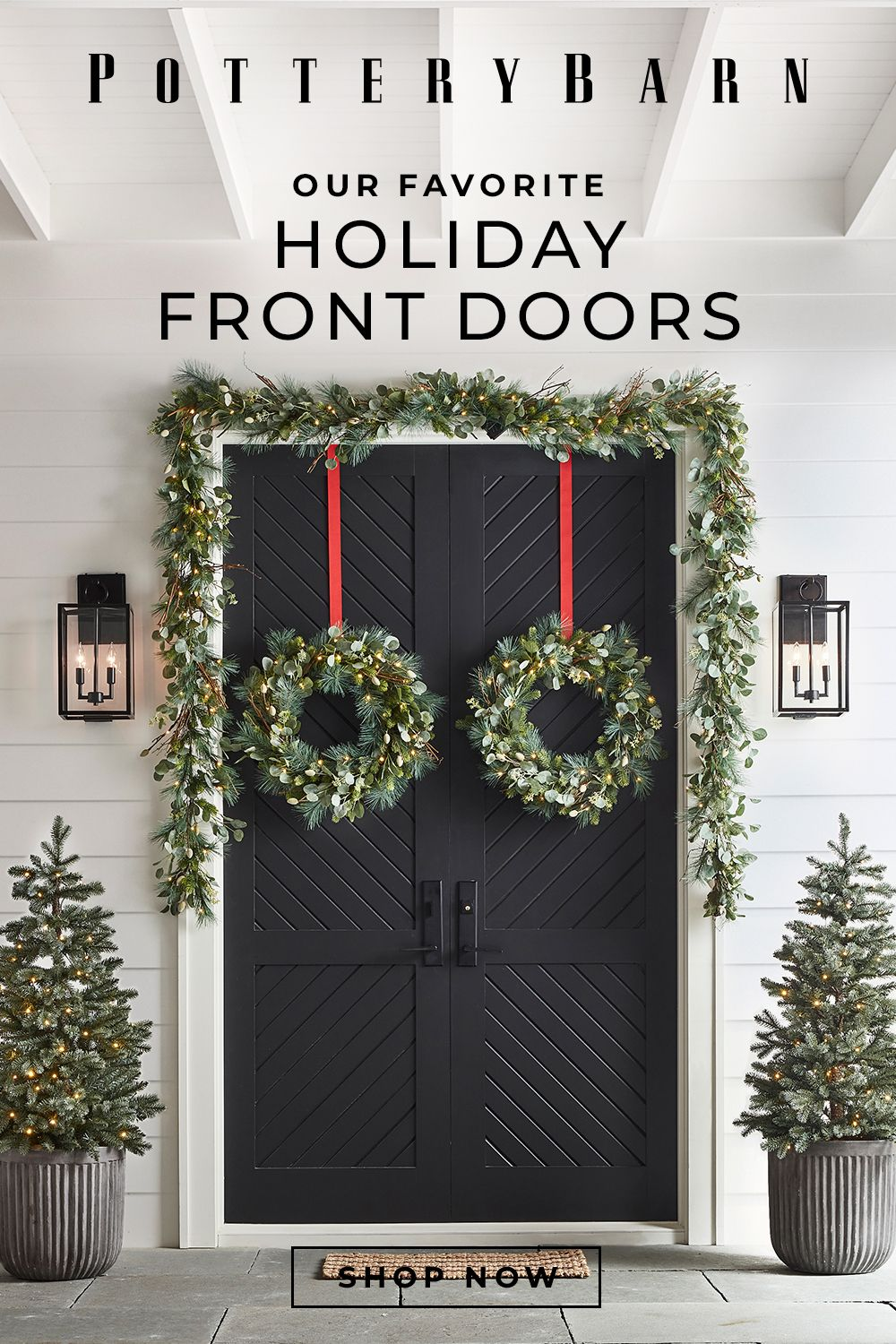 3 Ways to Decorate Your Front Door for the Holiday