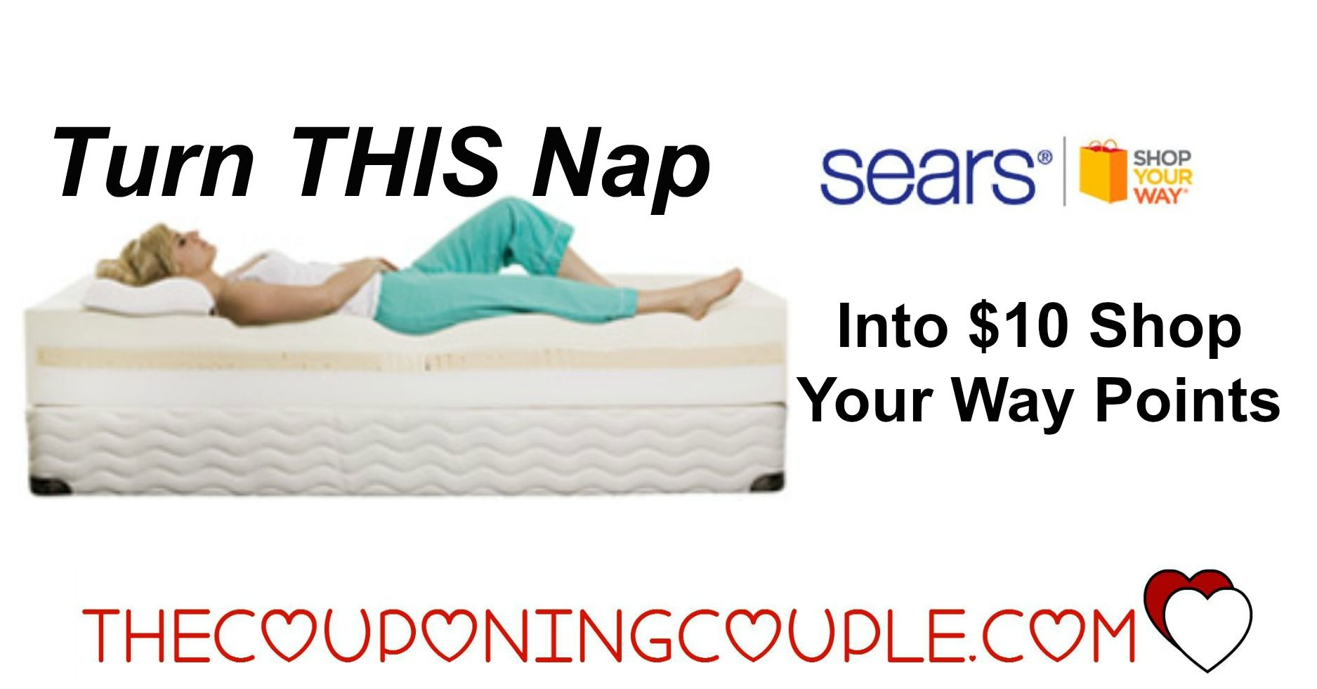 get 10 syw points for napping check it out coupon matchups