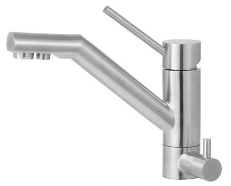 Alfi Brand Ab2040 Solid Stainless Steel Kitchen Faucet Water
