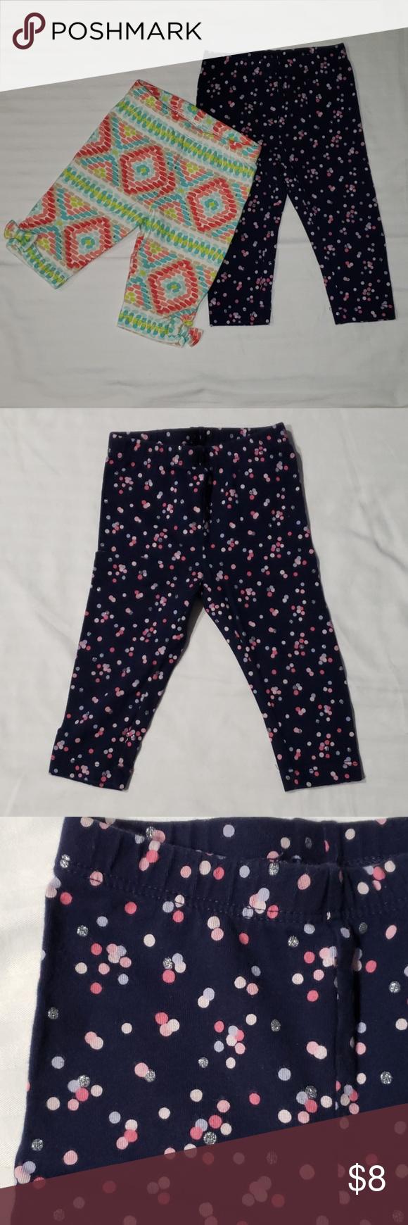 Gymboree Girls Printed Capri Leggings