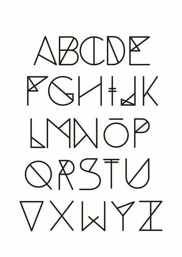 Mooi lettertype voor in mijn BuJo | Lettering fonts