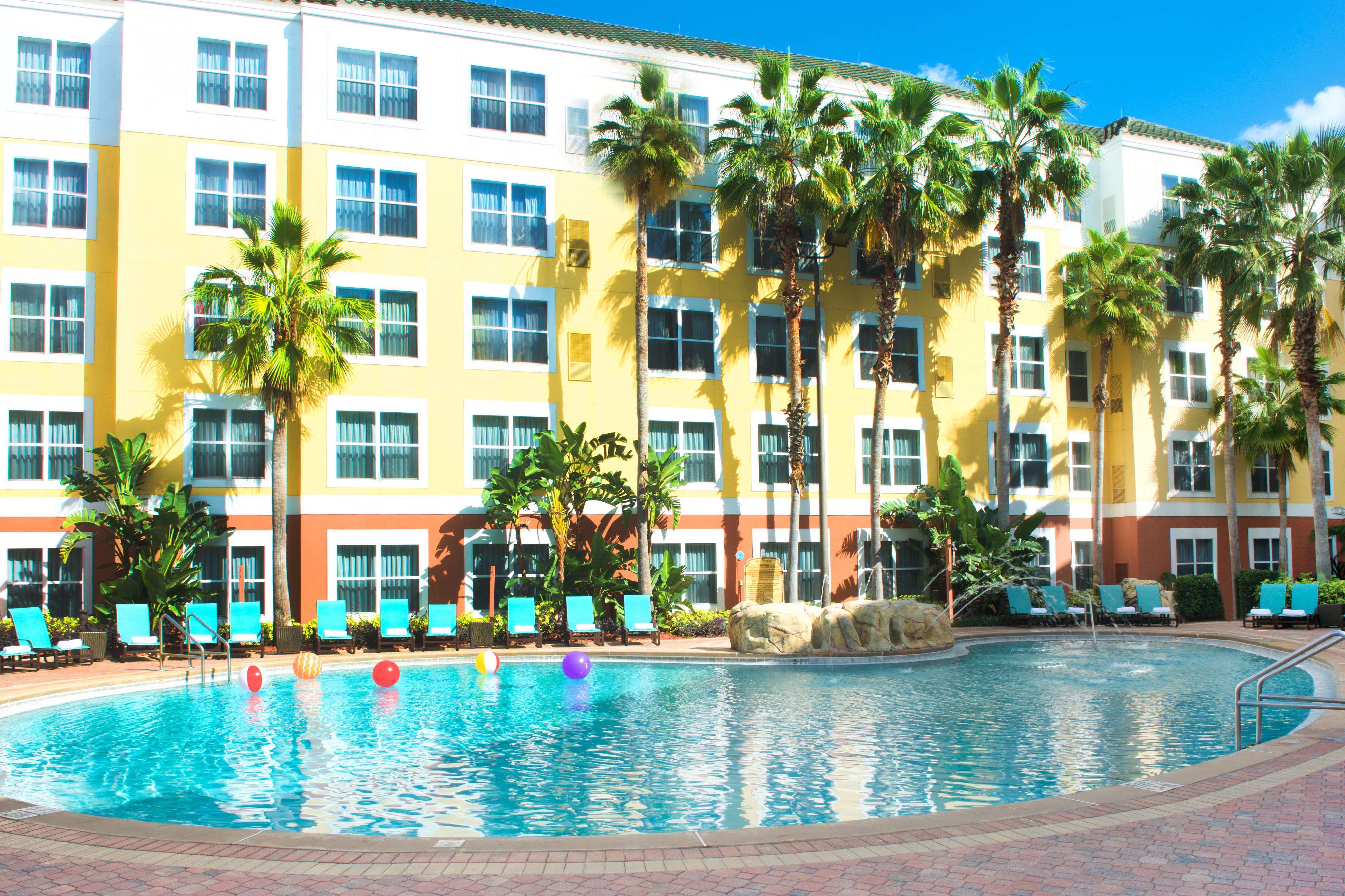 Residence Inn Orlando Lake Buena Vista Outdoor Pool Visiting