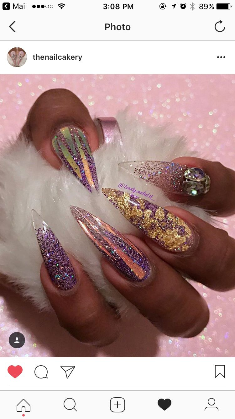 Pin by Brittany gilliams on Long nails Long nails