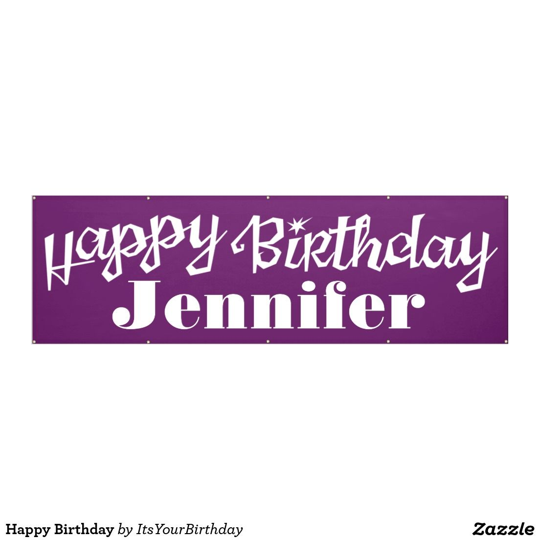 Happy Birthday Banner Birthdays