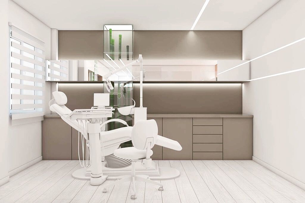 Family dental clinic on behance medical office decor