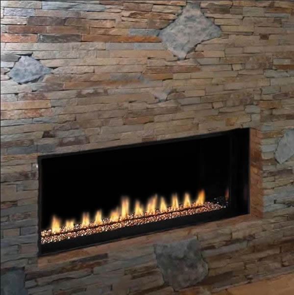 """Superior VRL4543 Ventless Linear Gas Fireplace - 43"""" 
