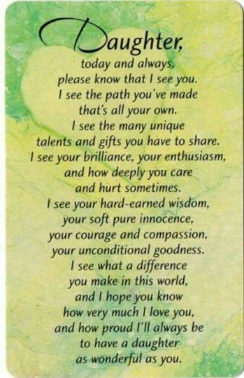 For Our Wonderful Sons That Are Blessed With 2 Beautiful Daughters