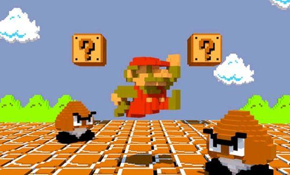 3D 8-Bit Mario! | Geekness | Pinterest | 3d