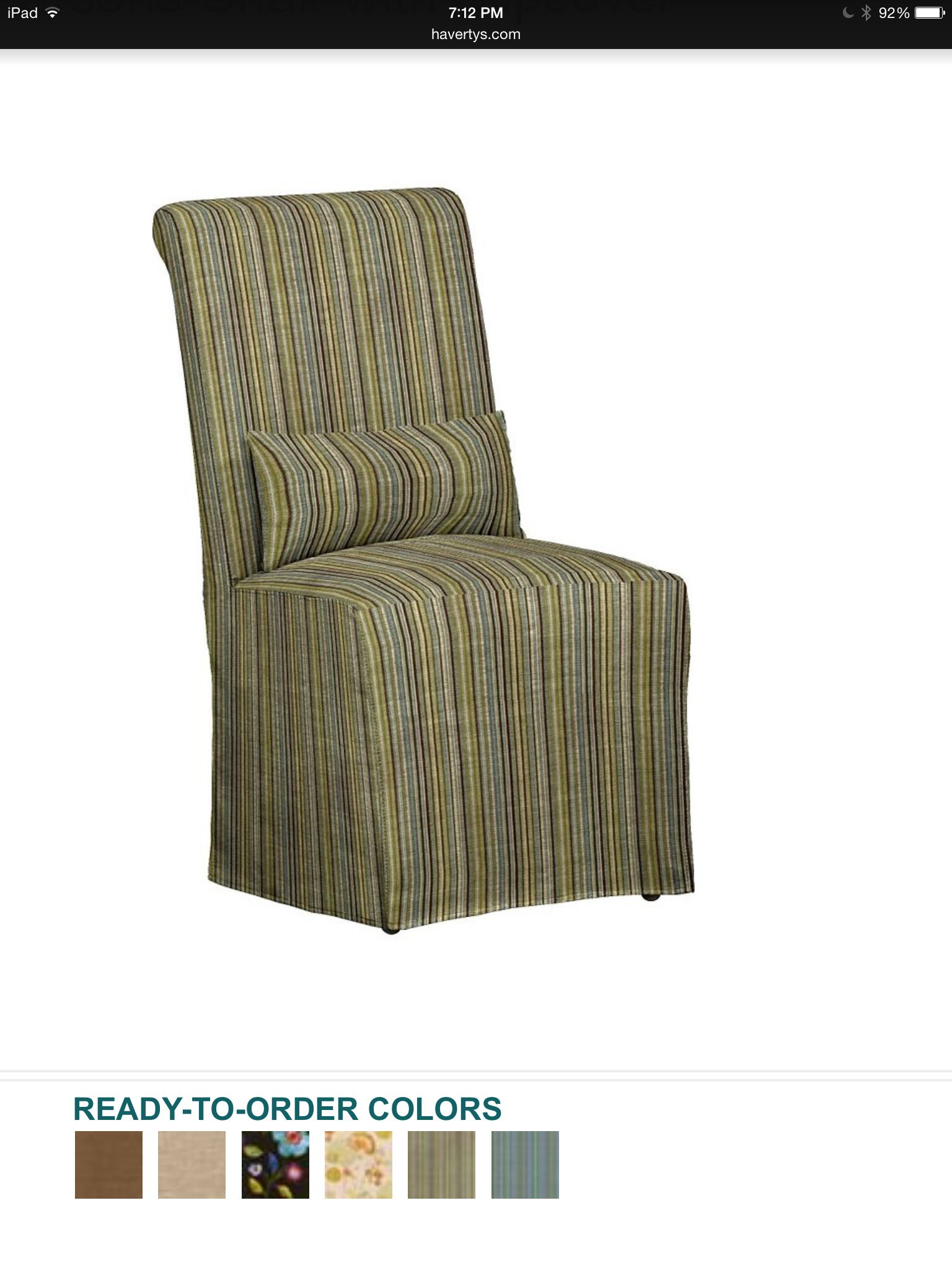 Mariah Dining Chair From Havertyu0027s.