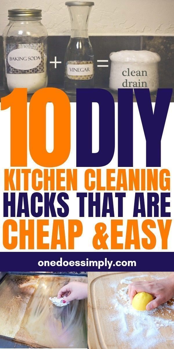 Photo of 10 DIY kitchen cleaning hacks that are cheap and easy – #cheap #cleaning # …