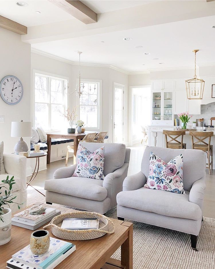 Collected Cozy Cottage Living Room Makeover Farm House Living Room Living Room Designs Living Room Decor