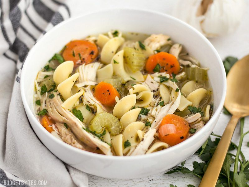Homemade chicken noodle soup recipe egg noodles noodle soup and homemade chicken noodle soup forumfinder Images