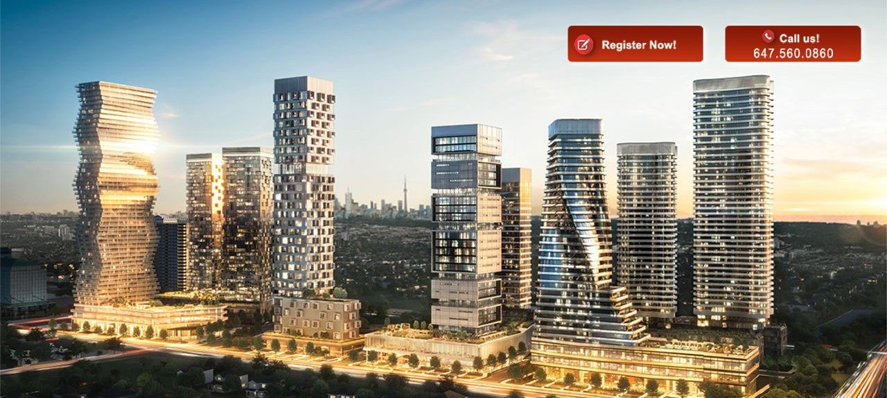 M City Rogers Floor Plans In Mississauga City condo, New