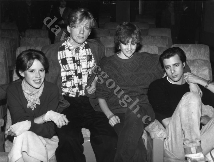 Molly Ringwald, Anthony Michael Hall, Ally Sheedy, Judd ...