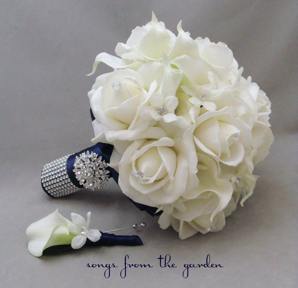 Calla lilies roses and stephanotis make the perfect romantic bridal calla lilies roses and stephanotis make the perfect romantic bridal bouquet that can be customized mightylinksfo Images