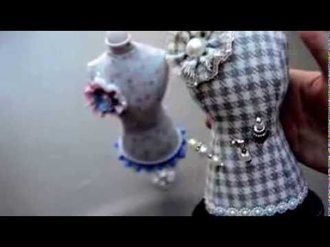Swap Dress Form Stick Pin Cushion & Stick Pins For Ana Llanes - YouTube