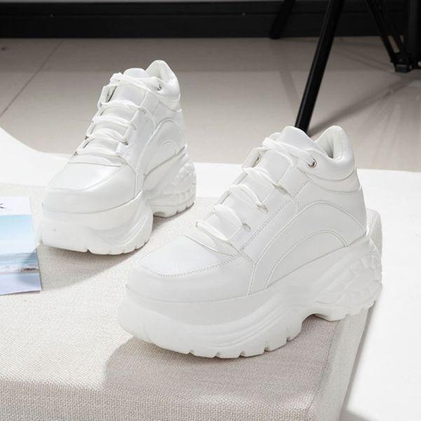 Chunky shoes, Women platform sneakers
