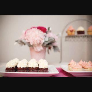 Pretty cupcake spread