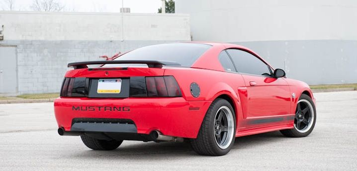 Dan B S Torch Red 03 Mach 1 Mustang Americanmuscle Autos Y