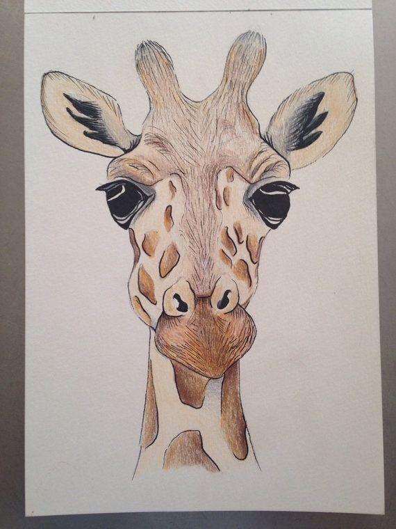 Simple Girafe Drawings In 2018 Dessin Peinture Art Dessin