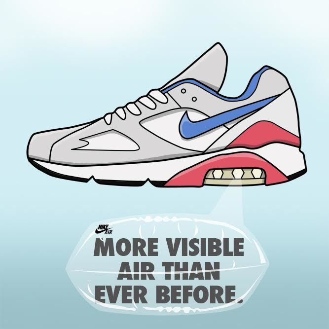 8e6b3efd146e Air Max 180 - The Nike Air Max Series Detailed and Illustrated