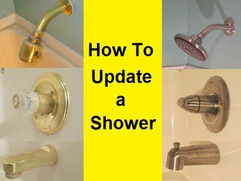 It Is Pretty Easy To Replace Your Old Shower Hardware And Give It