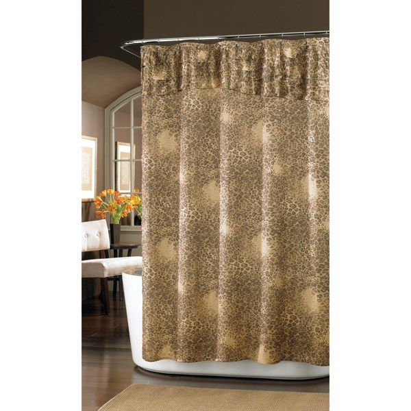 Nicole Miller Wild at Heart 72\' x 72\' Fabric Shower Curtain - Bed ...