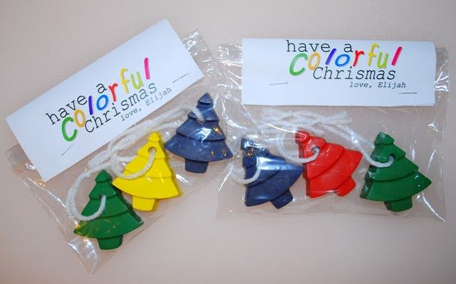 Christmas Tree Crayon Ornaments ~ Be DifferentAct Normal Gift
