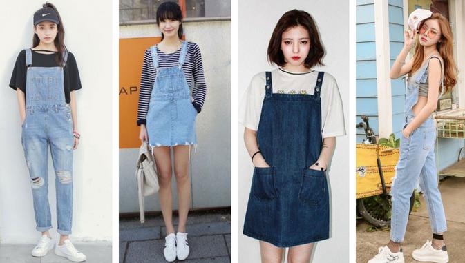 Mau Stylish Ala Cewek Korea Ini Daftar Model Baju Wanita Yang Populer Di Korea Styling Pod Mode Korea Model Baju Wanita Gaun Perempuan