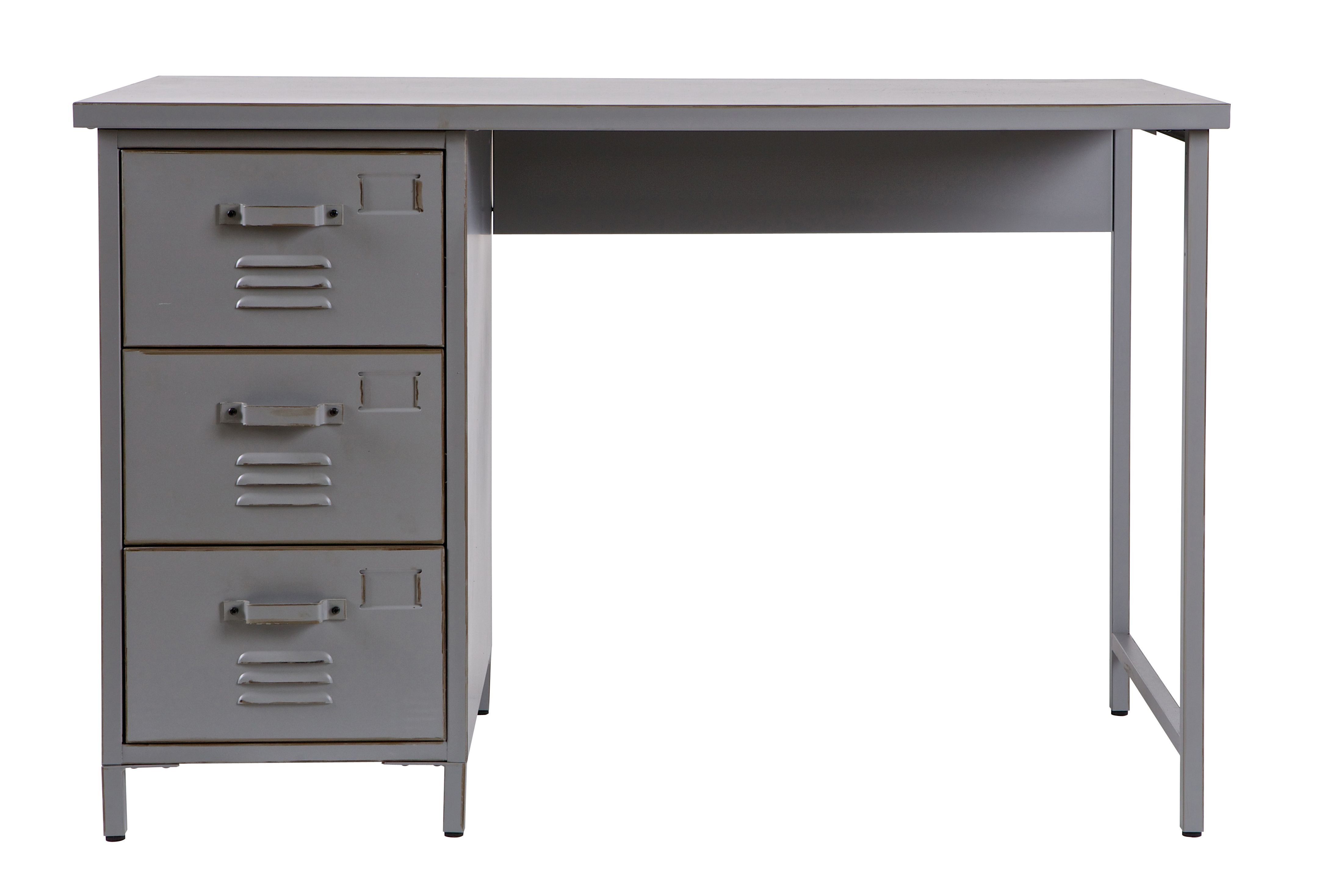 Metal locker desk max woood bureau en métal metallschrank