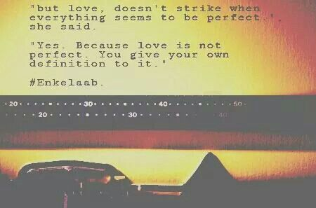 Love Imperfection