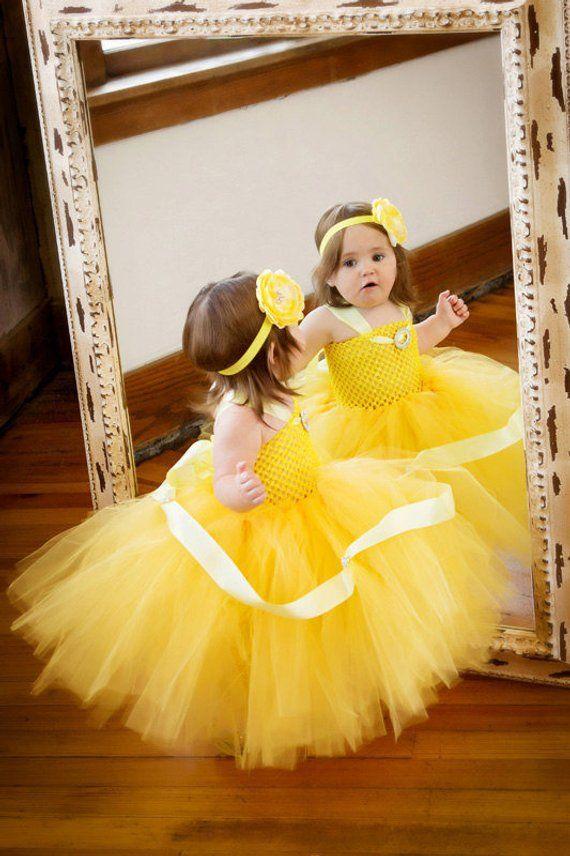 2847fe9e4 Belle Halloween Costume, Girls Halloween Costume, Belle Dress, Princess  Belle Costume, Princess Bell